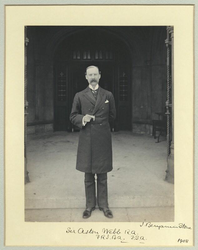 Sir Aston Webb, by Benjamin Stone, 24 March 1908 - NPG x45010 - © National Portrait Gallery, London