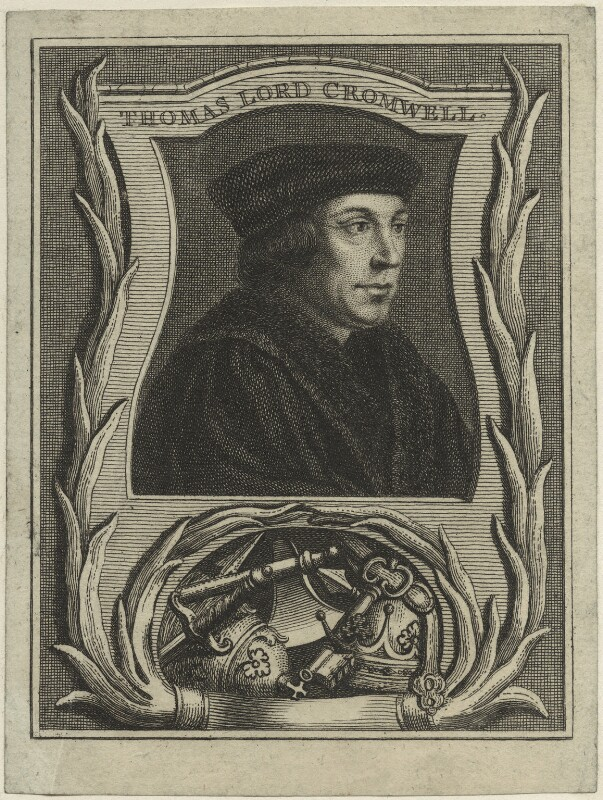 Thomas Cromwell, Earl of Essex, after Hans Holbein the Younger, possibly 18th century - NPG D24213 - © National Portrait Gallery, London