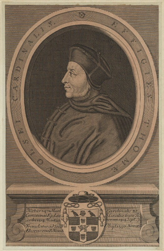 Thomas Wolsey, after Hans Holbein the Younger, probably 18th century - NPG D24245 - © National Portrait Gallery, London