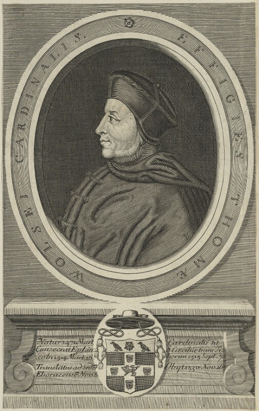 Thomas Wolsey, after Hans Holbein the Younger, probably 18th century - NPG D24247 - © National Portrait Gallery, London