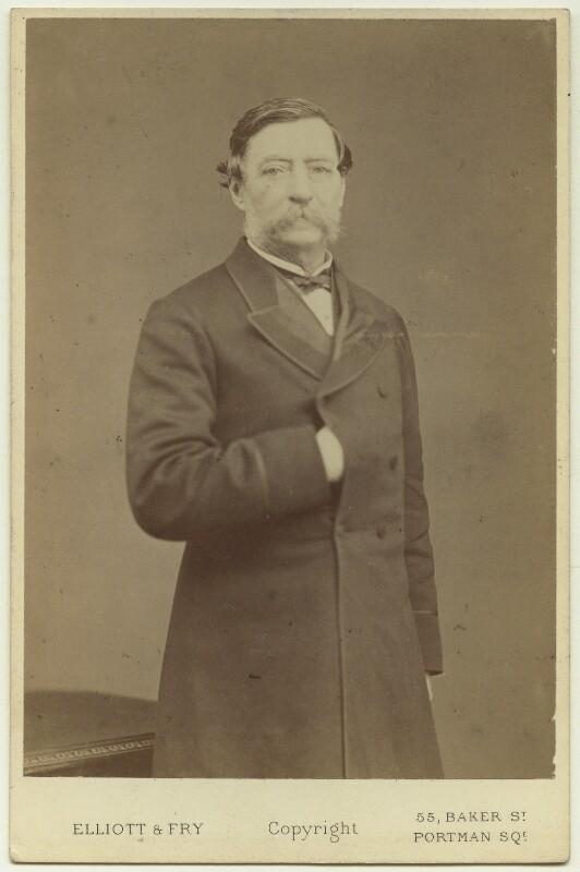 Robert Cornelis Napier, 1st Baron Napier of Magdala, by Elliott & Fry, 1870s - NPG x11982 - © National Portrait Gallery, London