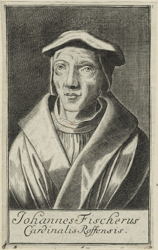 John Fisher, after Unknown artist, possibly 17th century - NPG D24263 - © National Portrait Gallery, London