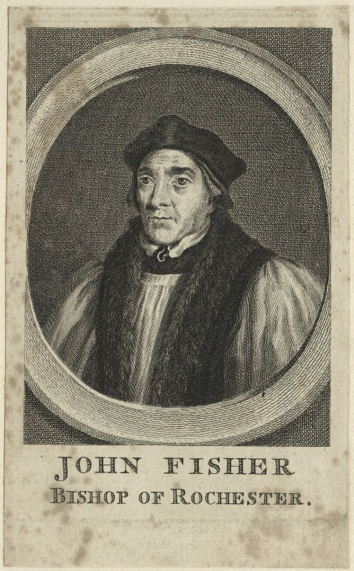 John Fisher, after Hans Holbein the Younger, probably 18th century - NPG D24266 - © National Portrait Gallery, London