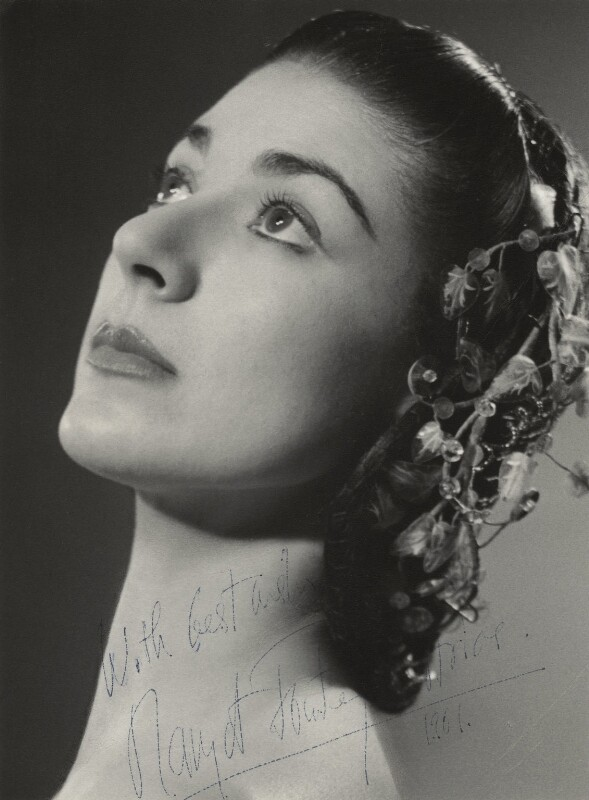 Margot Fonteyn, by Baron Studios, circa 1961 - NPG x16221 - © National Portrait Gallery, London
