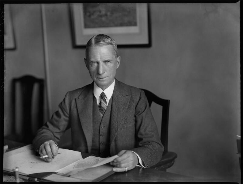 Sir Godfrey Fell, by Bassano Ltd, 25 June 1935 - NPG x151633 - © National Portrait Gallery, London