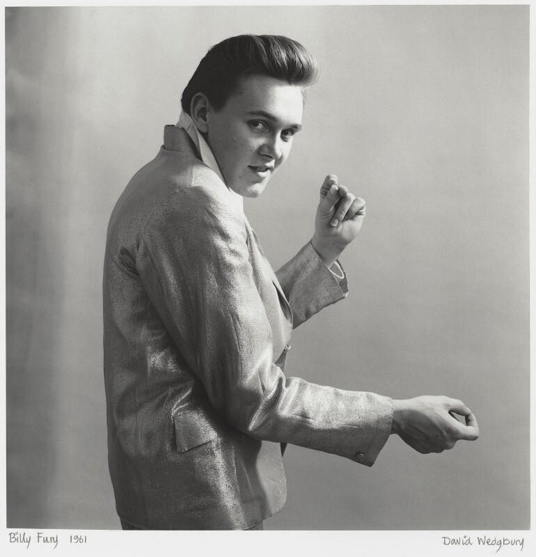 Billy Fury, by David Wedgbury, 1961 - NPG x47347 - © National Portrait Gallery, London
