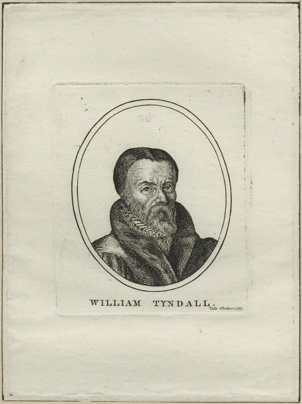 William Tyndale, after Unknown artist, possibly early 19th century - NPG D24289 - © National Portrait Gallery, London