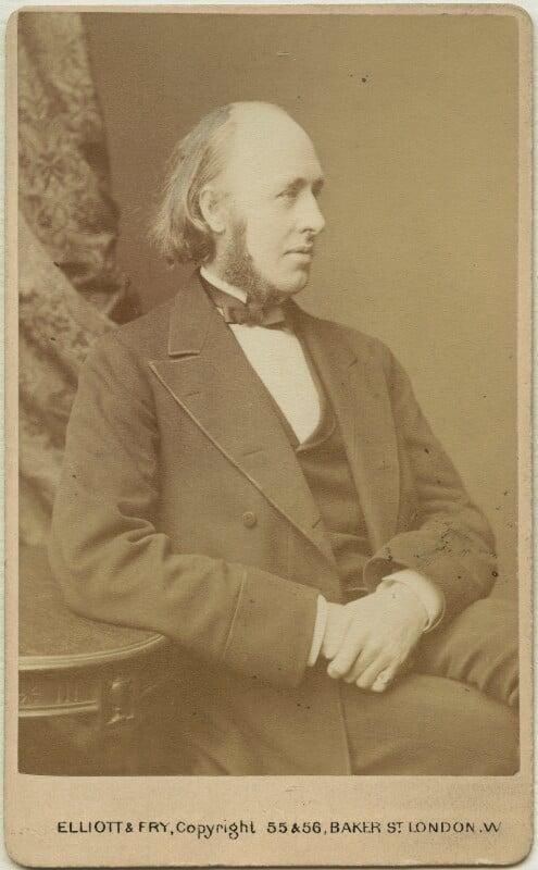 (William) Edward Hartpole Lecky, by Elliott & Fry, 1880s - NPG x19968 - © National Portrait Gallery, London