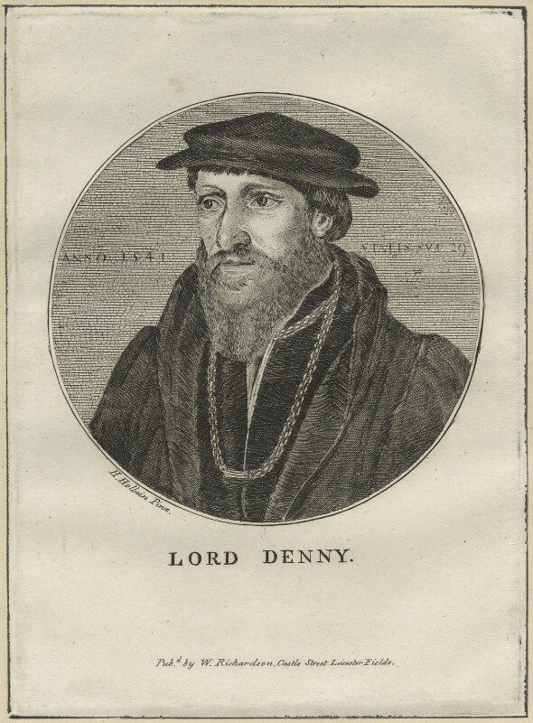 Sir Anthony Denny, after Hans Holbein the Younger, possibly early 19th century - NPG D24321 - © National Portrait Gallery, London