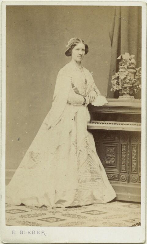 Jenny Lind, by Emilie Bieber, 1860s - NPG x12443 - © National Portrait Gallery, London