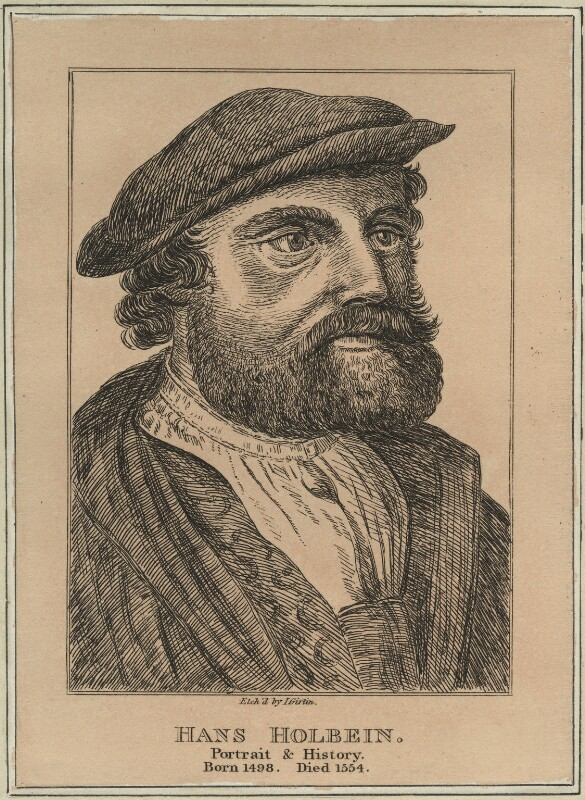 Hans Holbein the Younger, by John Girtin, possibly early 19th century - NPG D24348 - © National Portrait Gallery, London