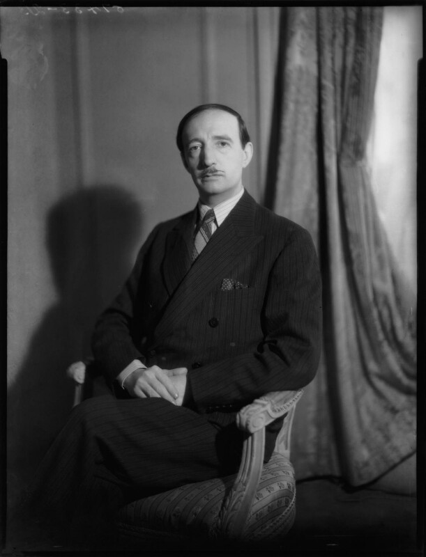 Zog I, King of Albania, by Bassano Ltd, 20 November 1940 - NPG x151647 - © National Portrait Gallery, London