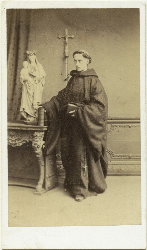Father Ignatius (Joseph Leycester Lyne), by Mason & Co (Robert Hindry Mason), 1864 - NPG x76790 - © National Portrait Gallery, London