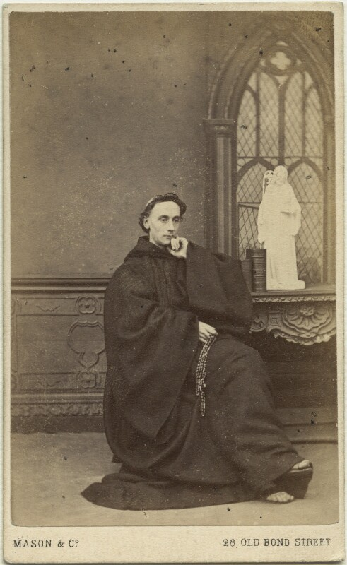 Father Ignatius (Joseph Leycester Lyne), by Mason & Co (Robert Hindry Mason), circa 1864 - NPG x12118 - © National Portrait Gallery, London