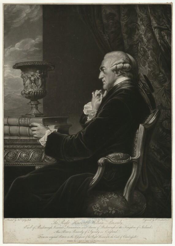 William Ponsonby, 2nd Earl of Bessborough, by Robert Dunkarton, after  John Singleton Copley, published 1794 - NPG D31723 - © National Portrait Gallery, London