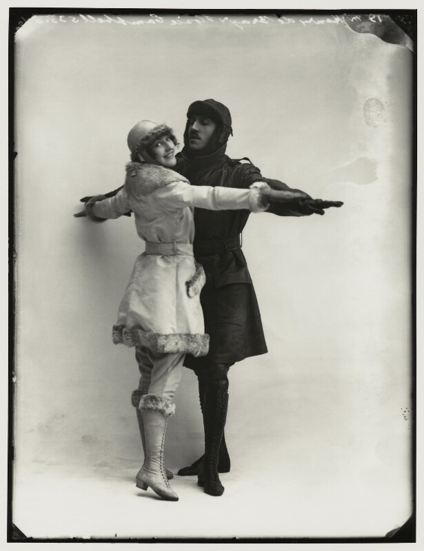 Rosie Campbell; Henry de Bray in 'Going up', by Bassano Ltd, 19 March 1919 - NPG x151660 - © National Portrait Gallery, London