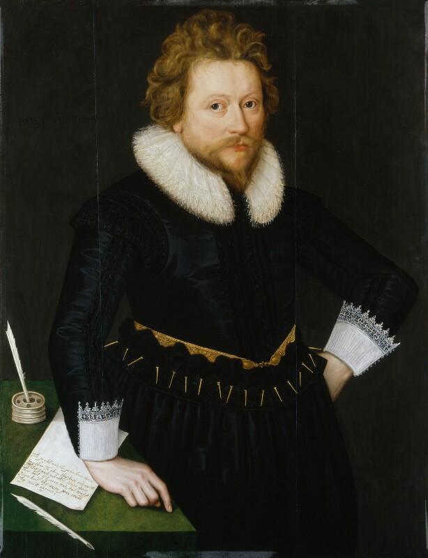 John Fletcher, by Unknown artist, circa 1620 - NPG 6829 - © National Portrait Gallery, London