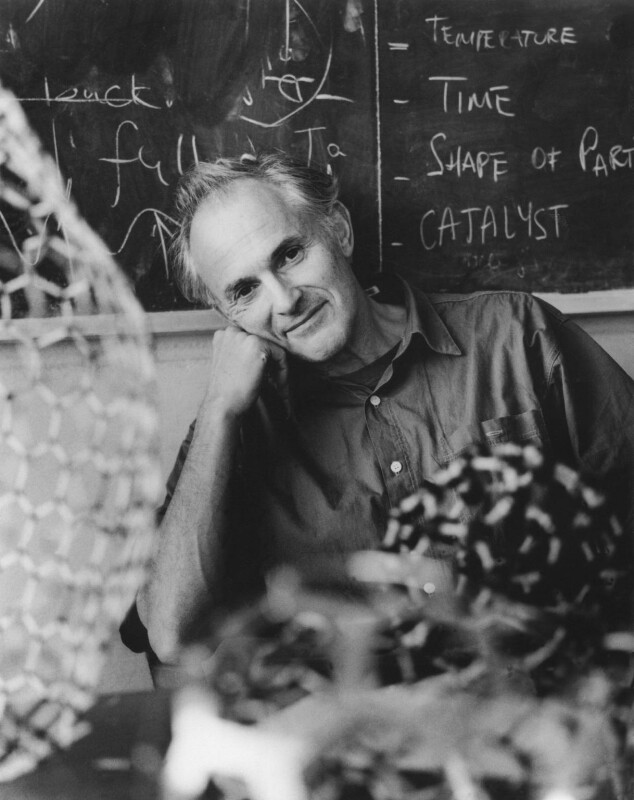 Sir Harold Walter Kroto, by Anne-Katrin Purkiss, October 1996 - NPG x87222 - © National Portrait Gallery, London