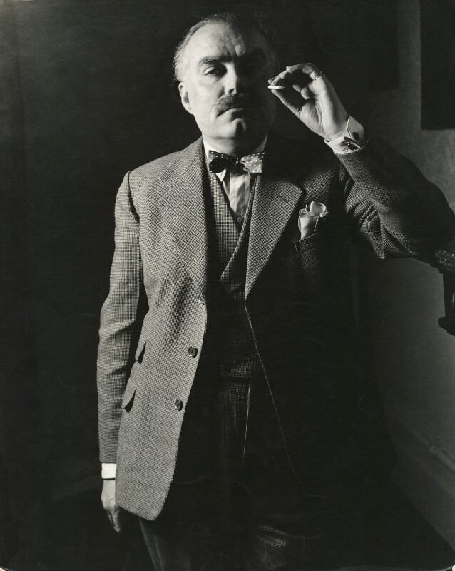 Osbert Lancaster, by Georges Maiteny, 1950s - NPG x36176 - © estate of Georges Maiteny