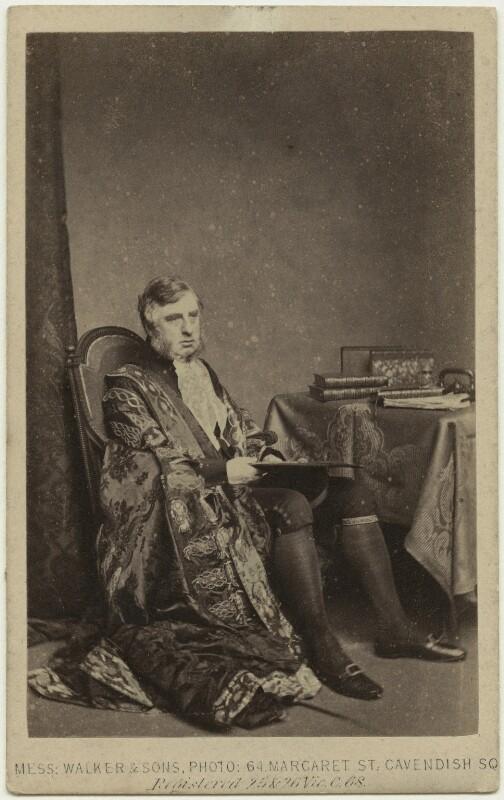 William Cavendish, 7th Duke of Devonshire, by William Walker & Sons, 1863 - NPG x46485 - © National Portrait Gallery, London
