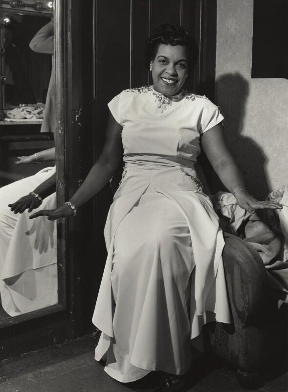 Winifred Atwell, by Walter Hanlon, 1952 - NPG x129523 - © estate of Walter Hanlon
