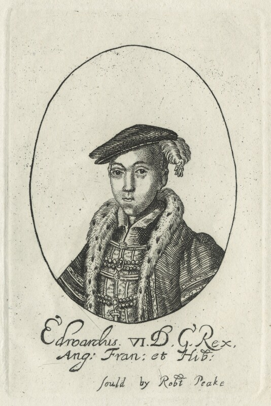 King Edward VI, possibly by William Faithorne, probably 17th century - NPG D24808 - © National Portrait Gallery, London