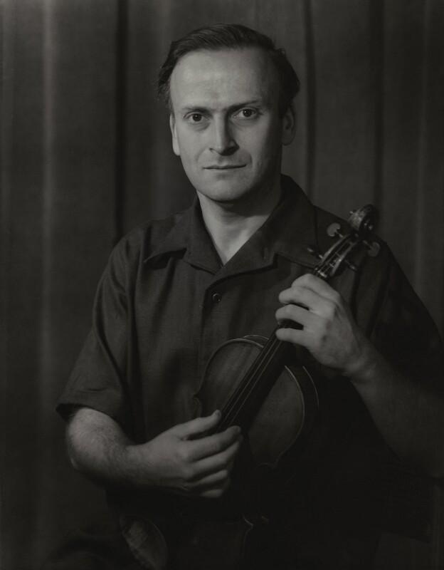 Yehudi Menuhin, by Howard Coster, 1956 - NPG x2027 - © National Portrait Gallery, London