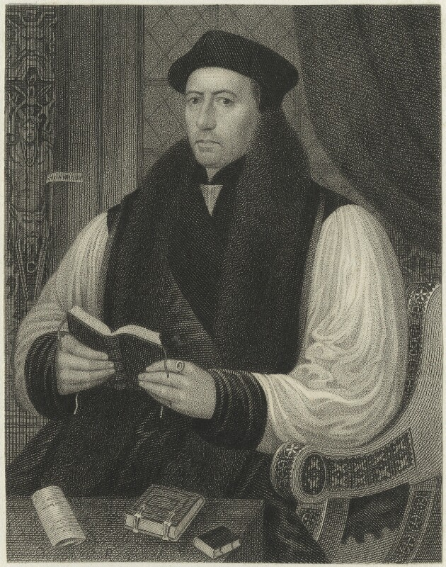 Thomas Cranmer, after Unknown artist, possibly early 19th century - NPG D24832 - © National Portrait Gallery, London