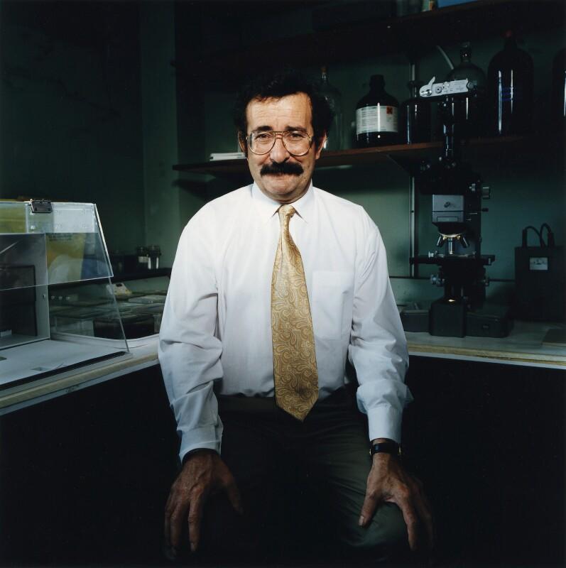 Robert Maurice Lipson Winston, Baron Winston, by Trevor Ray Hart, 1995 - NPG x76548 - © Trevor Ray Hart