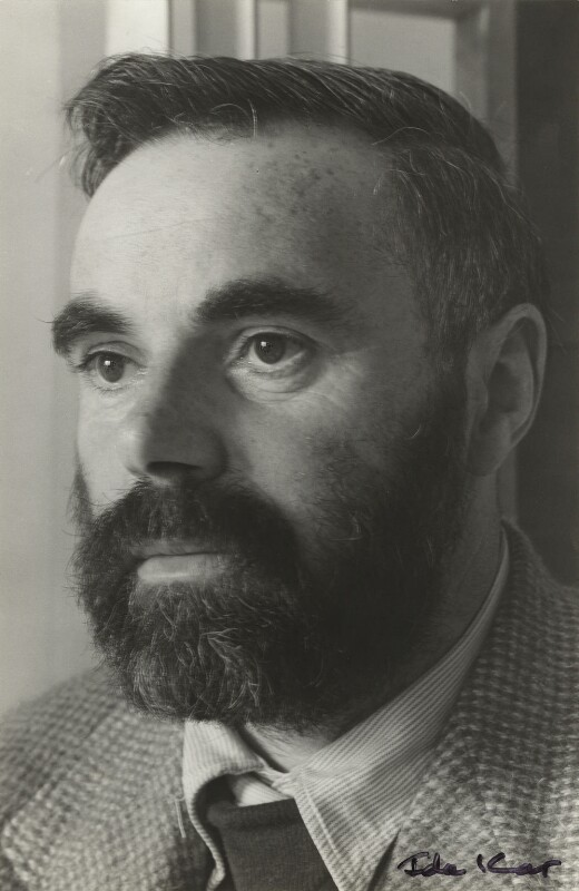 Victor Pasmore, by Ida Kar, 1954 - NPG x129549 - © National Portrait Gallery, London