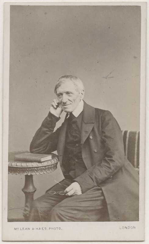 John Newman, by McLean & Haes, 1864 - NPG Ax7503 - © National Portrait Gallery, London