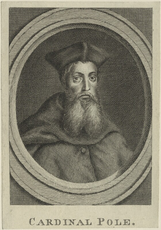 Reginald Pole, after Unknown artist, possibly 18th century - NPG D24902 - © National Portrait Gallery, London