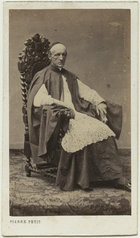 Henry Edward Manning, by Pierre Petit, 1860s - NPG x129556 - © National Portrait Gallery, London