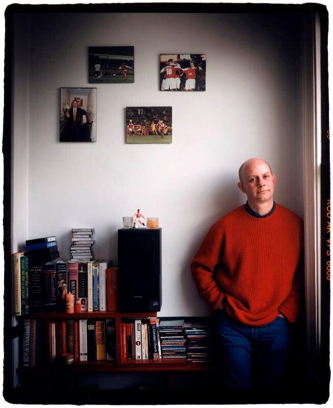 Nick Hornby, by Harry Borden, 1997 - NPG x87886 - © Harry Borden