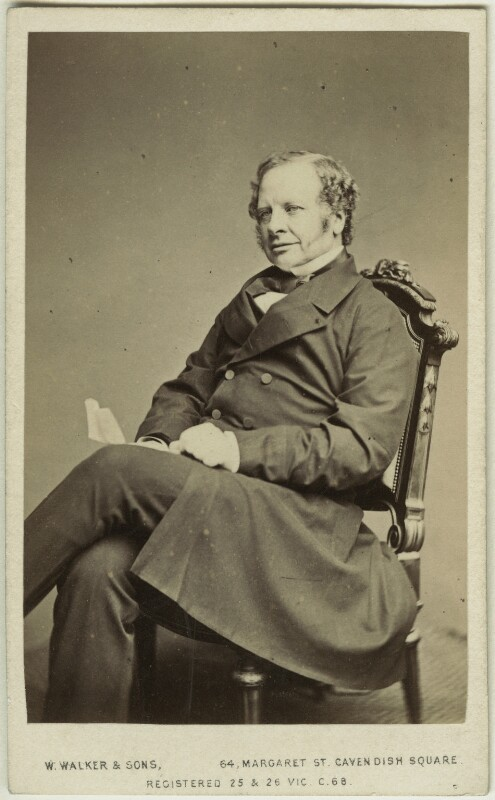 Granville George Leveson-Gower, 2nd Earl Granville, by William Walker & Sons, 1862-1866 - NPG x16812 - © National Portrait Gallery, London