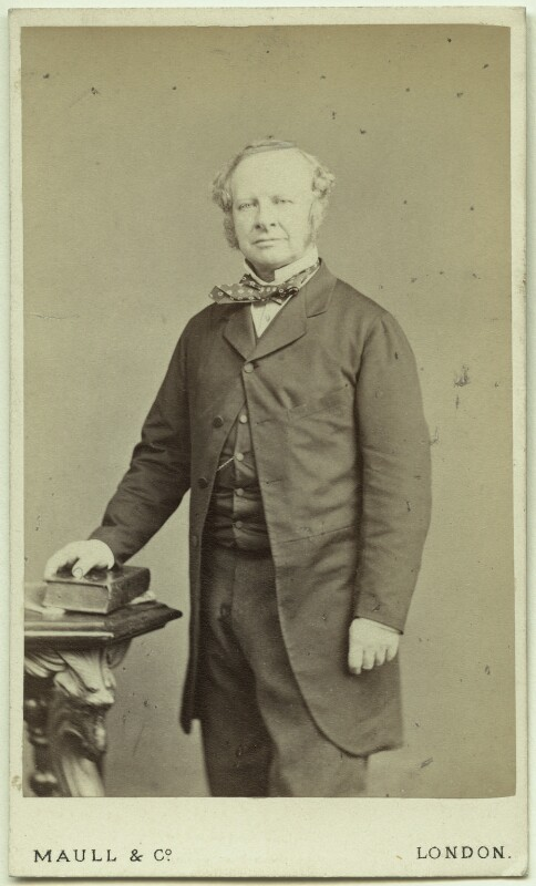 Granville George Leveson-Gower, 2nd Earl Granville, by Maull & Co, 1860s - NPG Ax39933 - © National Portrait Gallery, London