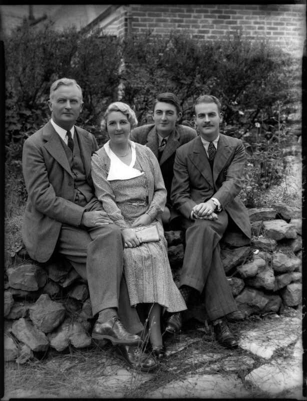 The Karslake family, by Bassano Ltd, 2 September 1935 - NPG x151740 - © National Portrait Gallery, London