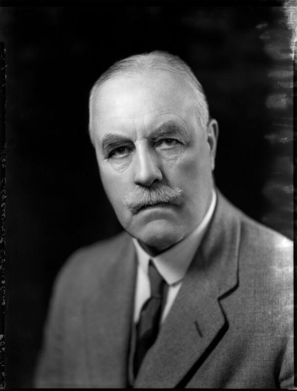 Sir Walter Edgeworth-Johnstone, by Bassano Ltd, 5 September 1935 - NPG x151749 - © National Portrait Gallery, London
