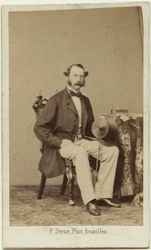 Christian IX, King of Denmark, by François Deron, early 1860s - NPG x74392 - © National Portrait Gallery, London