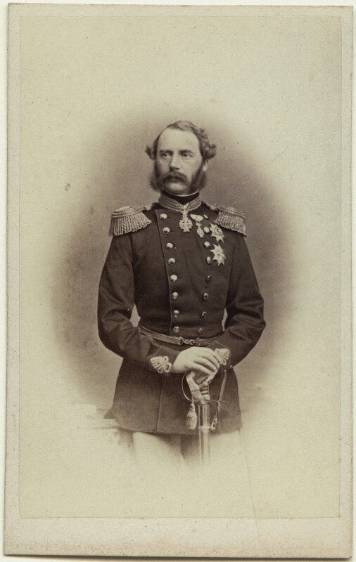 Christian IX, King of Denmark, by J. Petersen, 1860s - NPG x28084 - © National Portrait Gallery, London