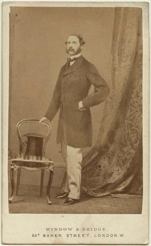 Christian IX, King of Denmark, by Window & Bridge, 1862-1866 - NPG x74386 - © National Portrait Gallery, London