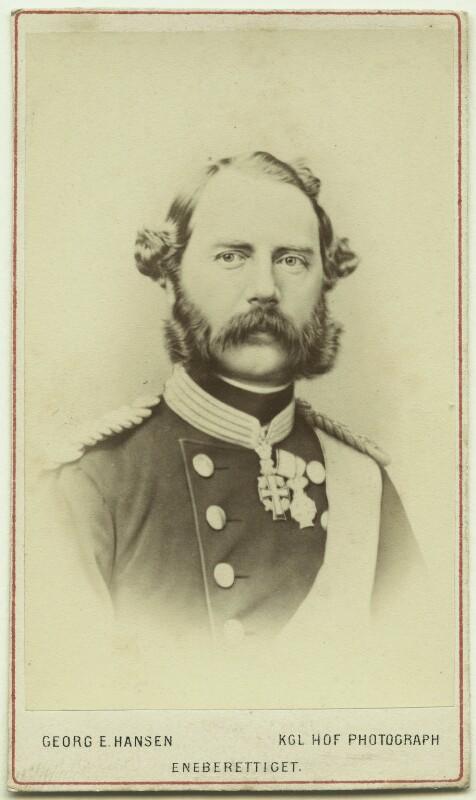Christian IX, King of Denmark, by Georg Emil Hansen, 1860s - NPG Ax46187 - © National Portrait Gallery, London