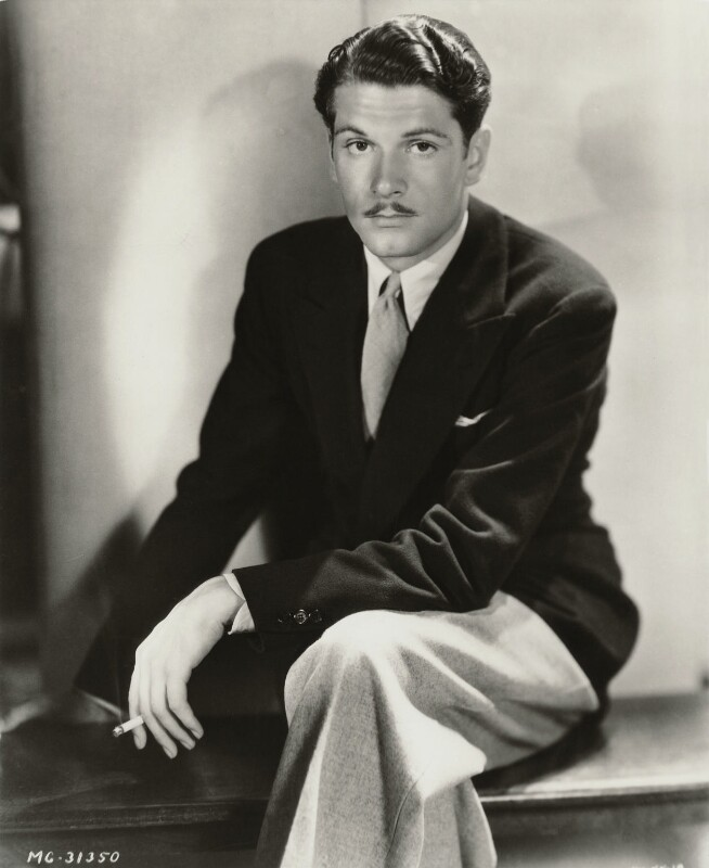Laurence Kerr Olivier, Baron Olivier, by George Hurrell, circa 1930 - NPG x45059 - © reserved; collection National Portrait Gallery, London