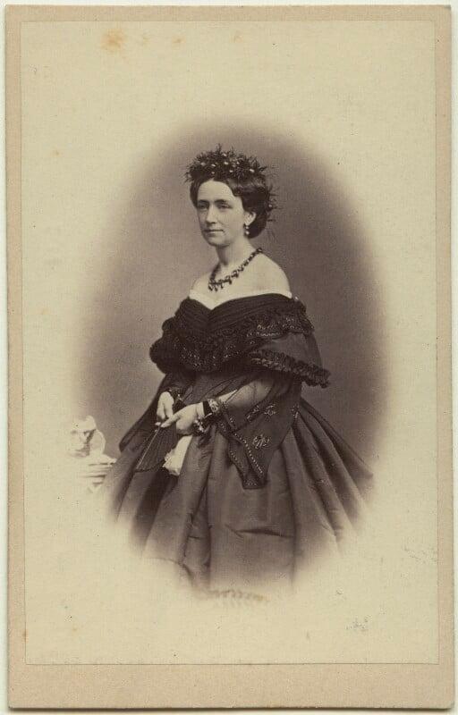 Louise, Queen of Denmark, by J. Petersen, 1860s - NPG x74391 - © National Portrait Gallery, London