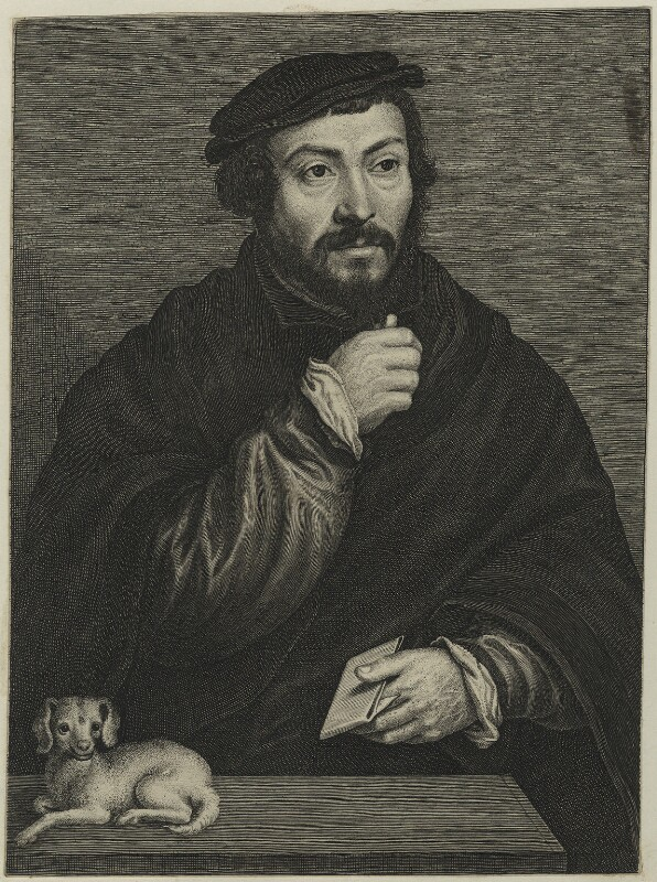 Sir Thomas More, by Lucas Vorsterman, probably 17th century - NPG D24946 - © National Portrait Gallery, London
