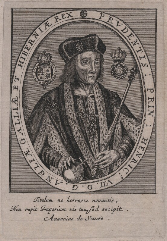 King Henry VII, by Unknown artist, 17th century - NPG D31780 - © National Portrait Gallery, London
