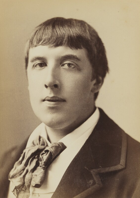 Oscar Wilde, by Napoleon Sarony, 1883 - NPG P1133 - © National Portrait Gallery, London