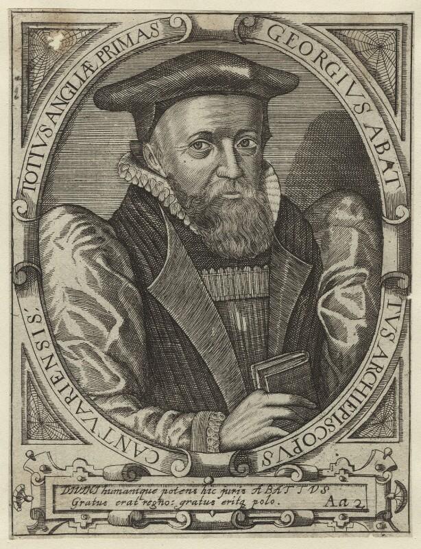 George Abbot, after Simon de Passe, published 1650 (1616) - NPG D31773 - © National Portrait Gallery, London
