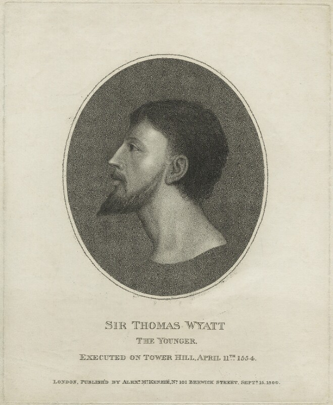 a biography of sir thomas wyatt the elder a fifteenth century poet Writing the renaissance a fifteenth century monk whose cause for sainthood was being promoted at the time were the poems of sir thomas wyatt.
