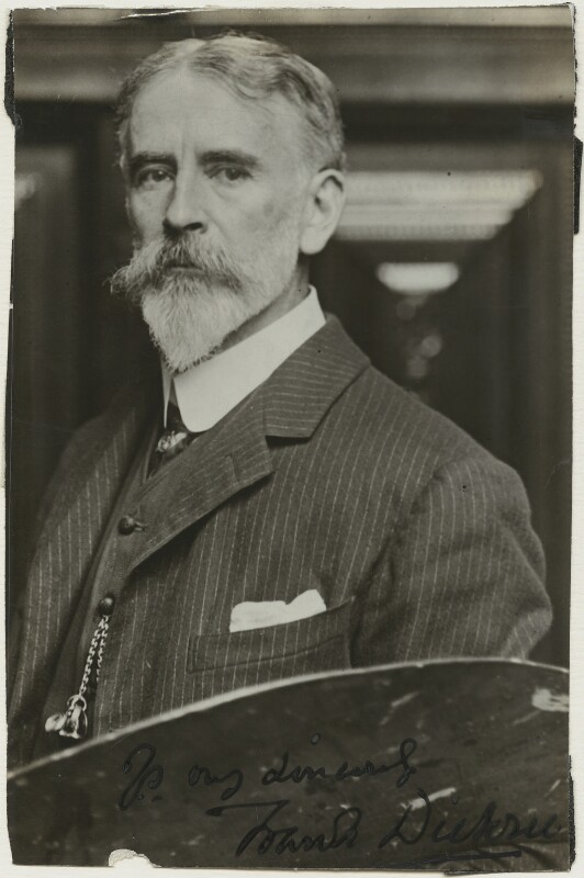 Frank Dicksee, by Unknown photographer, 1910s - NPG x11832 - © National Portrait Gallery, London